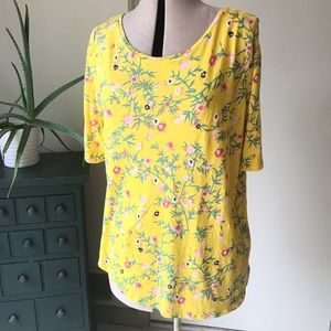 LOFT Spring Tee in Yellow ☀️